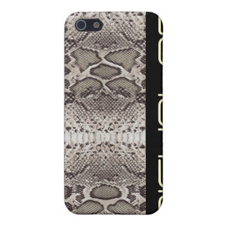 Snakeskin print pattern cover for iPhone SE/5/5s