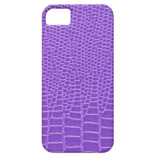 Snakeskin púrpura violeta iPhone 5 Case-Mate protector