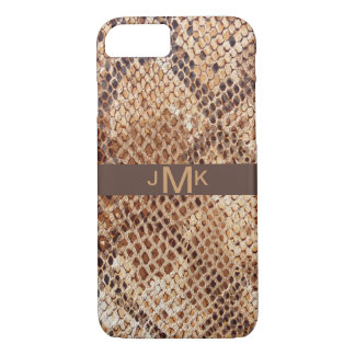 Snakeskin Python Print iPhone 8/7 Case