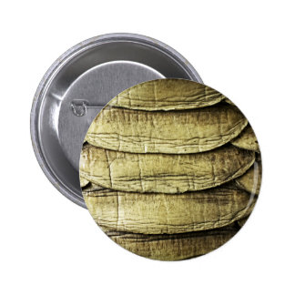 Snakeskin Snake Background Texture Pinback Button