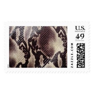 Snakeskin stamps