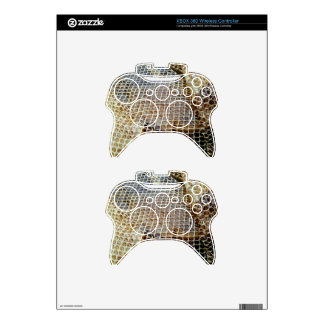Snakeskin Texture Xbox 360 Controller Decal