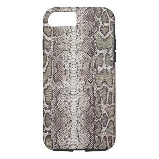 Snakeskin, verdes y grises falsos/falsos funda iPhone 7