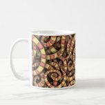 Snaky Spirals Coffee Mugs