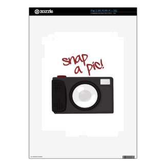 Snap A Pic Decals For The iPad 2