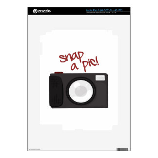 Snap A Pic iPad 3 Decal