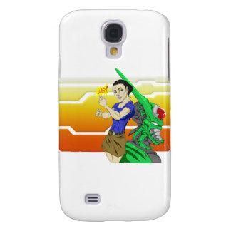 SNAP! Cyborg & Babe Galaxy S4 Cover