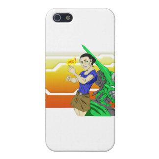 SNAP! Cyborg & Babe iPhone SE/5/5s Case