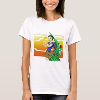SNAP! Cyborg & Babe T-Shirt