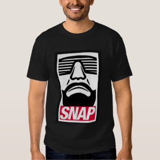 SNAP in to it shirt (black)