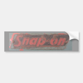 Snap On Tools Old School Car Bumper Sticker