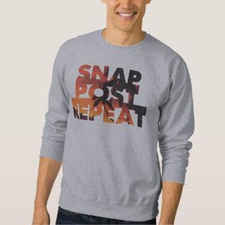 Snap, Post, Repeat Sweatshirt