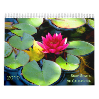 Snap Shotsof California, 2010 Calendars