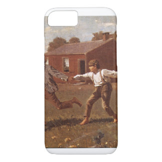 Snap the Whip', Winslow Homer_Great Work of Art iPhone 8/7 Case