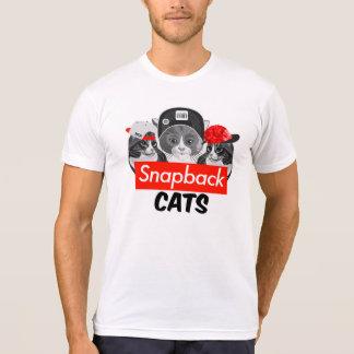 Snapback Cats Tee Shirt