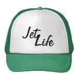 Snapback de la vida del jet gorras de camionero
