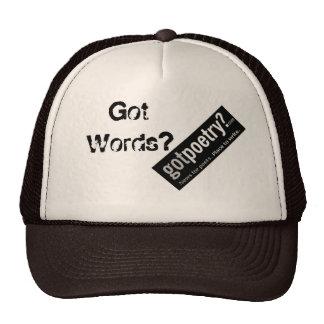 ¡Snapback del camionero de GotPoetry.com - ayuda Gorros