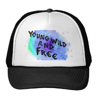 Snapback joven, salvaje, y libre gorro