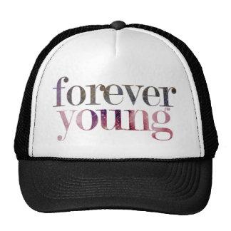 Snapback para siempre joven gorras