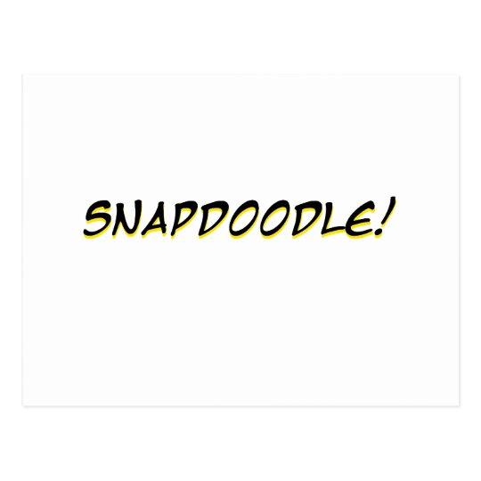Snapdoodle! Postcard