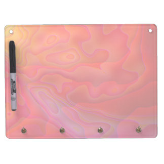 Snapdragon Caverns Horizontal Dry Erase Board With Keychain Holder
