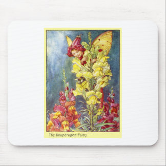 Snapdragon Fairy Mouse Pad