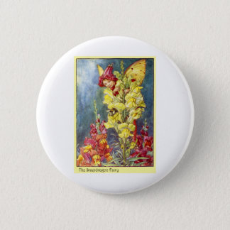 Snapdragon Fairy Pinback Button