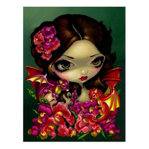 """Snapdragon Fairy"" Postcard"