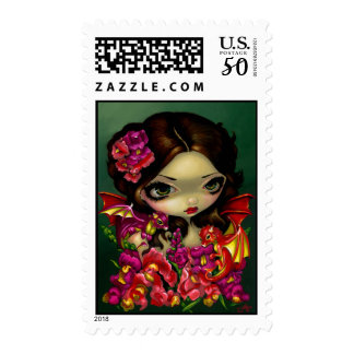 """Snapdragon Fairy"" Stamp"