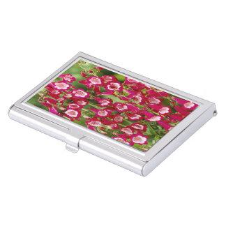 Snapdragon Flowers Business Card Holder