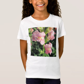 Snapdragon Pink Flower T-Shirt