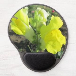 Snapdragon Yellow Flower Gel Mouse Pad