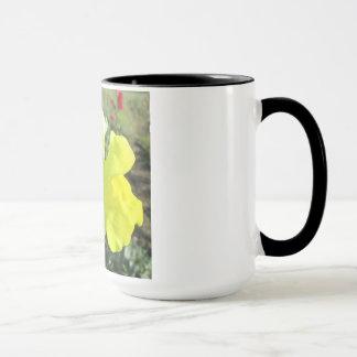 Snapdragon Yellow Flower Mug