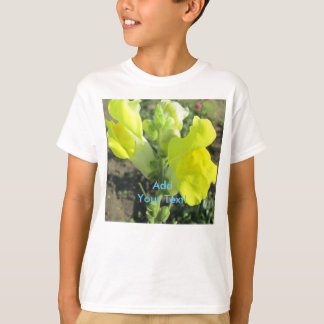 Snapdragon Yellow Flower T-Shirt