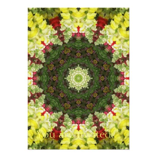 Snapdragons Kaleidoscope 10 Personalized Announcement