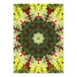 "Snapdragons Kaleidoscope 10 5"" X 7"" Invitation Card"