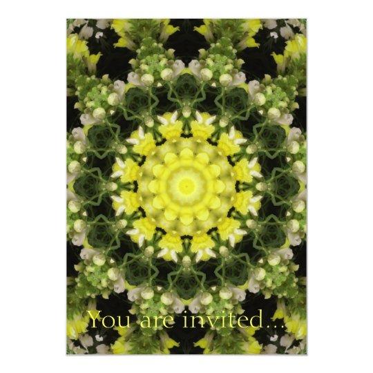 Snapdragons Kaleidoscope 6 Card