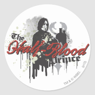 Snape 4 classic round sticker