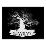 Snape And Lily - Always Poster