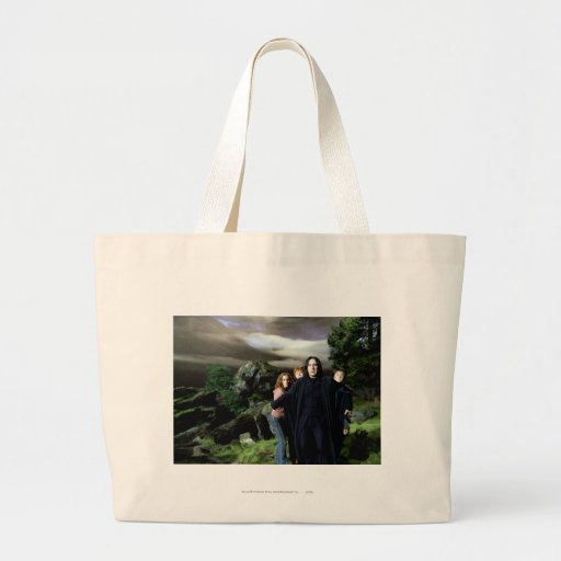 Snape Hermoine Ron Harry Canvas Bags