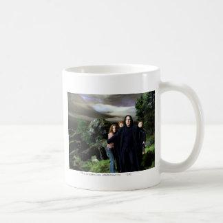 Snape Hermoine Ron Harry Coffee Mug