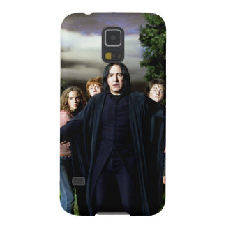Snape Hermoine Ron Harry Galaxy S5 Cover