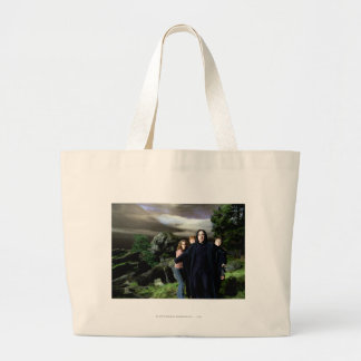 Snape Hermoine Ron Harry Large Tote Bag