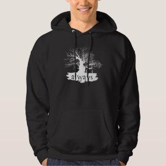 Snape y lirio - siempre suéter con capucha