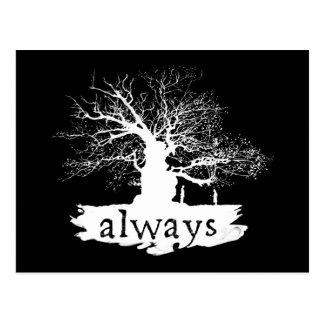 Snape y lirio - siempre tarjetas postales