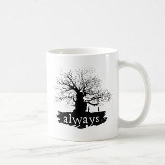 Snape y lirio - siempre taza clásica