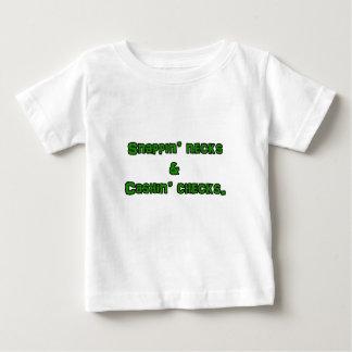 snapin necks and cashin checks baby T-Shirt