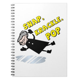 Snapkrackle Spiral Notebook