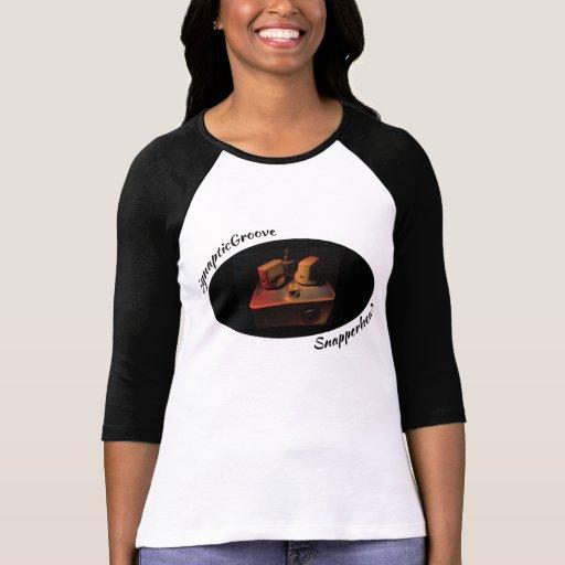 Snapperhead - señoras 3/4 camiseta de la manga