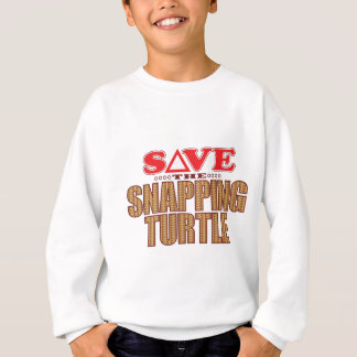 Snapping Turtle Save Sweatshirt